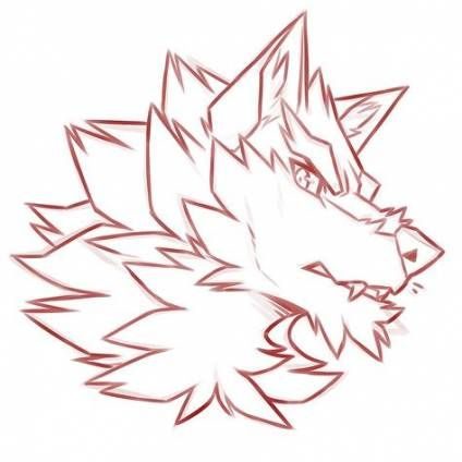 Drawing Wolf Head Design Reference 28 Ideas Furry Drawing Werewolf Drawing Anime Wolf Drawing