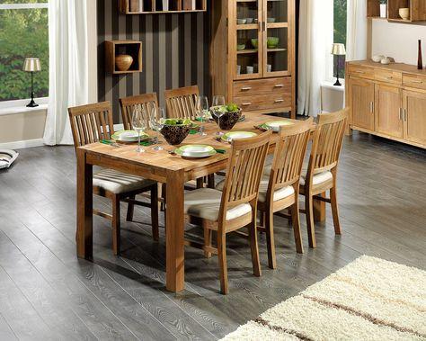 Set »Royal Oak« (groß, 6 Stühle, beige) - Royal Oak - Serien - dänisches bettenlager schlafzimmer