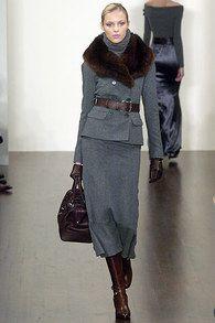 Ralph Lauren Fall 2005 Ready-to-Wear Collection Photos - Vogue-Anja Rubik