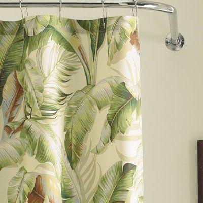 Tommy Bahama Home Palmiers Cotton Single Shower Curtain Curtains Colorful Curtains Tommy Bahama