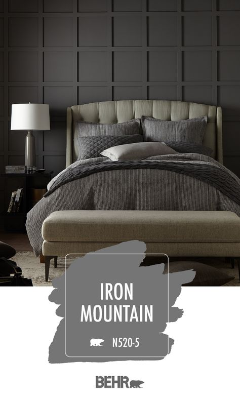 Iron Mountain   Behr Paint Colors