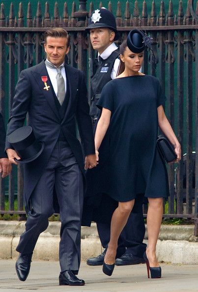 Victoria Beckham - The Best Red Carpet Maternity Style - Photos