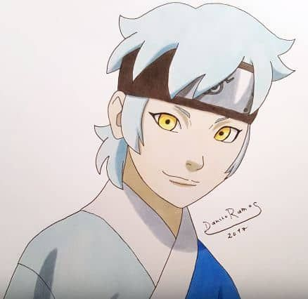 How To Draw Mitsuki From Naruto Step By Step In 2020 With Images