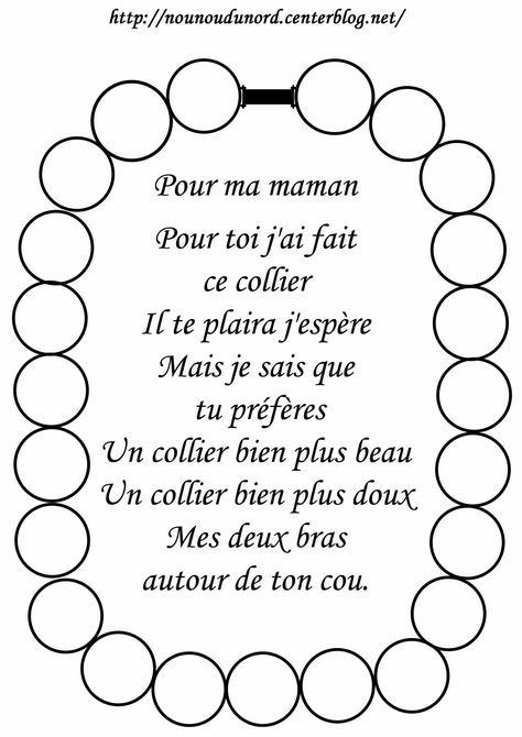 Poesie Fete Des Meres Maternelle Recherche Google
