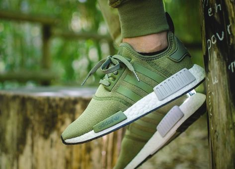 5d00219ae Adidas NMD R1 Footlocker Europe Exclusive - Olive Cargo Green (by Seth  Hematch)
