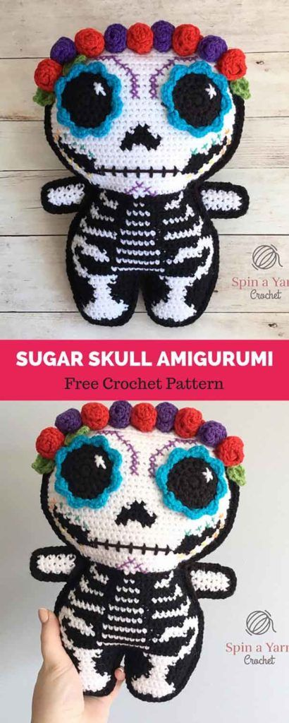 Skull – Amigurumi Patterns | 1024x410