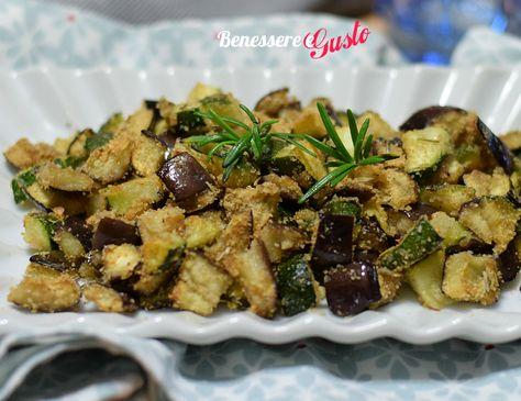 Zucchine e melanzane al forno, ricetta per un contorno leggero e saporito ideale per accompagnare tanti secondi piatti. Poco olio