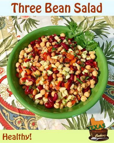 Three Bean Salad Recipe For A Healthy Lunch Or Dinner Three Bean Salad Bean Salad Bean Salad Recipes