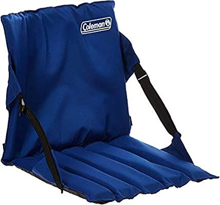 Amazon Com Coleman Portable Stadium Seat Bleacher Cushion With