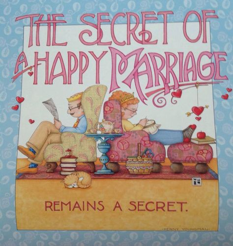 The secret to a happy marriage remains a secret