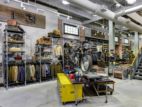 Barbour store by RGLA Solutions, Chicago   Illinois fashion