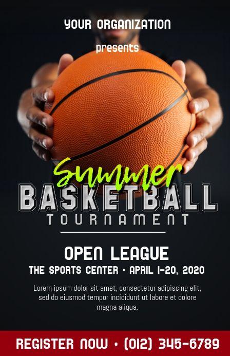 Basketball Tournament Poster Basketball Posters Basketball Basketball Tournament