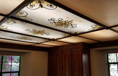 How To Use Decorative Light Covers For Unique Ceiling Decor Fluorescent Light Covers Florescent Light Cover Decorative Light Covers