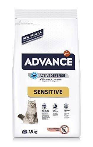 Advance Sensitive Pienso Para Gatos Con Sensibilidades Digestivas 1 5 Kg Pienso Para Gatos Pensando En Ti Sensibilidad
