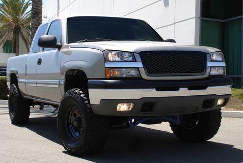 2003 2005 Chevrolet Silverado All Models Except 05 Hd Upper