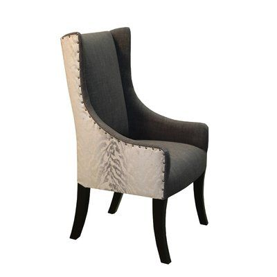Bloomsbury Market Lago Upholstered Dining Chair Grey Upholstered Dining Chairs Dinning Room Decor Dining Room Inspiration