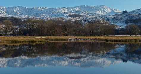 Llyn Dinas in Snowdonia is awe-inspiring.