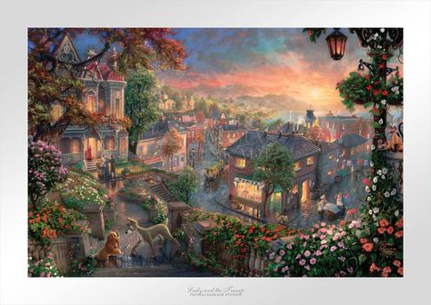 Lady and the Tramp - Limited Edition Paper - 18 x 27 / AP-Space Gray