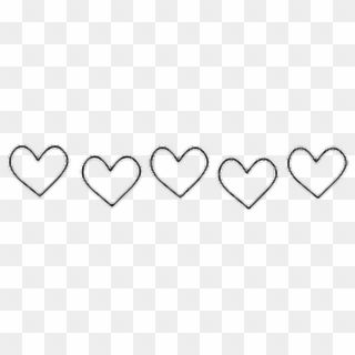 35+ Cute Heart Clipart Black And White