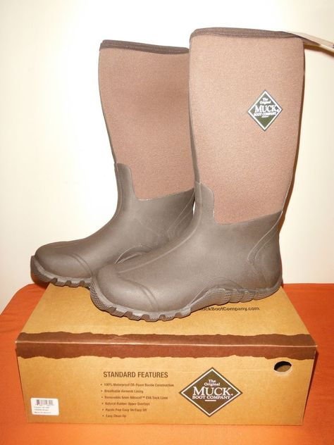 8122a8ca4b55d Muck Boots 'The Tractor' All Conditions Sub-zero-85 *New* Men's Sz 10/10.5  Snow #MuckBoots #WorkSafety