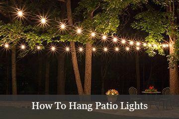 Diy Outdoor Lighting The Secret Life Of Rope Light Christmas Lights Etc 1000 In 2020 Outdoor Patio Lights Hanging Patio Lights Diy Outdoor Lighting