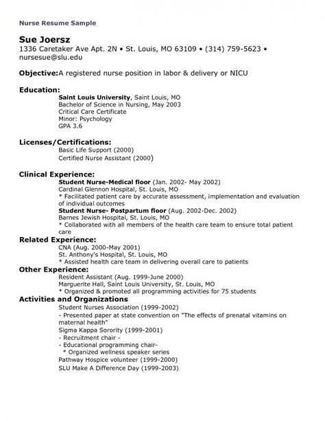 Picc Nurse Sample Resume Shatha Shatha999 On Pinterest