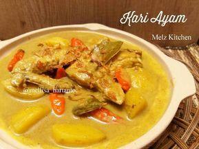 Resep Kari Ayam Oleh Melz Kitchen Resep Resep Ayam Kari Makanan Dan Minuman Resep Makanan
