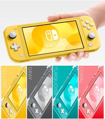 New Nintendo Switch Lite Handheld Console Pick Color In 2020 Nintendo Switch Handheld Nintendo