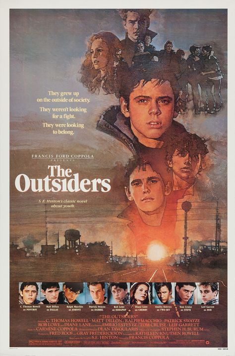 The Outsiders Movie Poster (#2 of 4)