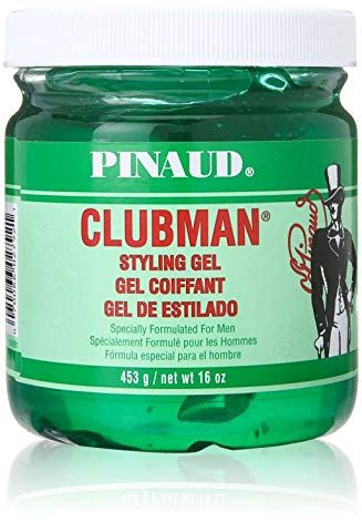 Pinaud Clubman Styling Gel 16 Oz Pack Of 7 Review Hair Gel For Men Styling Gel Hair Gel