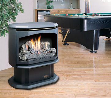 Kingsman 28 Inch Vent Free Gas Stove Gas Stove Fireplace Gas Stove Free Standing Gas Stoves