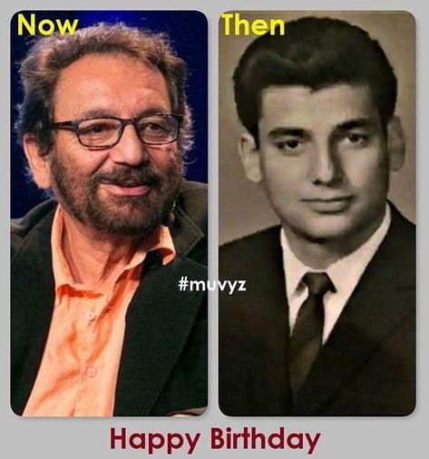 #HappyBirthday 🎂#ShekharKapur #BollywoodFlashback #NowAndthen #muvyz120618 @shekharkapur #muvyz