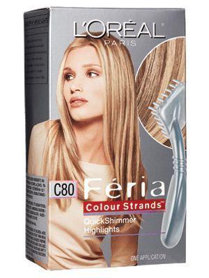 Loreal Feria Color Strands Quick Shimmer Highlights Google Search Haarfarben Feria Haarfarbe Bunte Haare