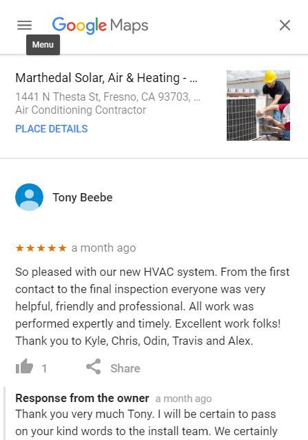 Heating And Air Conditioning Contractor In Fresno California Air