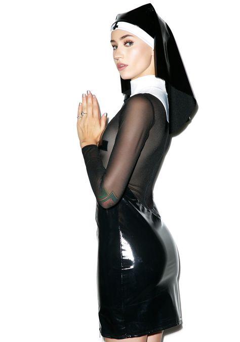 Nun More Black Costume