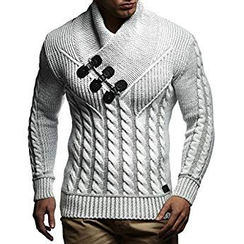 best sneakers 58a2a 21cc6 LEIF NELSON Herren Pullover Hoodie Strickpullover Sweatshirt ...