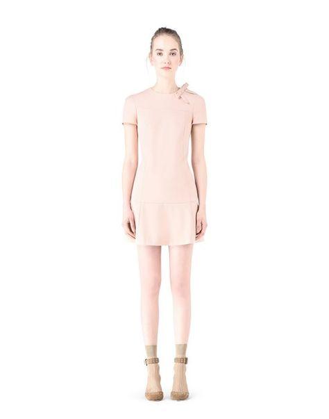 f2440e305e9 RED VALENTINO Scalloped Techno Cady Dress