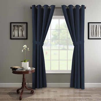 Silk Home Delta Blackout Curtains 2 Pack Blackout Curtains