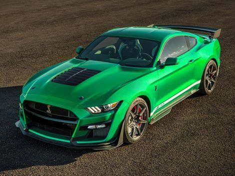 2020 Ford Mustang Shelby Gt500 Vin 001 Wears A Historic Shade Of Green Roadshow In 2020 Ford Mustang Shelby Gt500 Shelby Gt500 Ford Mustang Shelby
