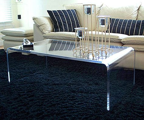 20 Chic Acrylic Coffee Tables With