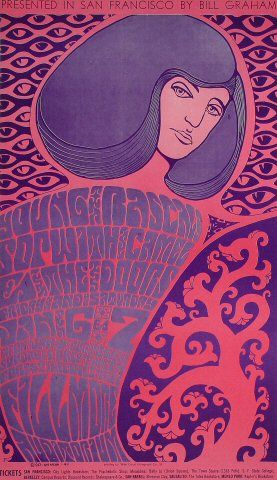 The Doors Poster - Rock posters, concert posters, and vintage posters from the Fillmore, Fillmore East, Winterland, Grande Ballroom, Armadillo World Headquarters, The Ark, The Bank, Kaleidoscope Club, Shrine Auditorium and Avalon Ballroom.