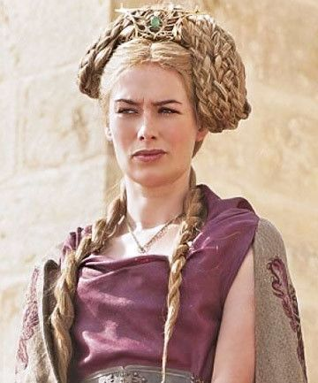 Cersei's Nest of Braids - The Best Hair Looks From 'Game of Thrones' - Photos