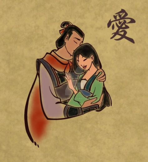 *LI SHANG & MULAN ~ A Girl Worth Fighting For by Ohanamaila on DeviantArt