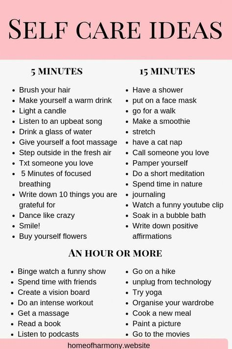 """""""PIN THIS LIST! save this list as a reference for self care ideas. even when you are short on time! Self care has so many benefits- make sure you click the link to read how it can change your life and… """""""