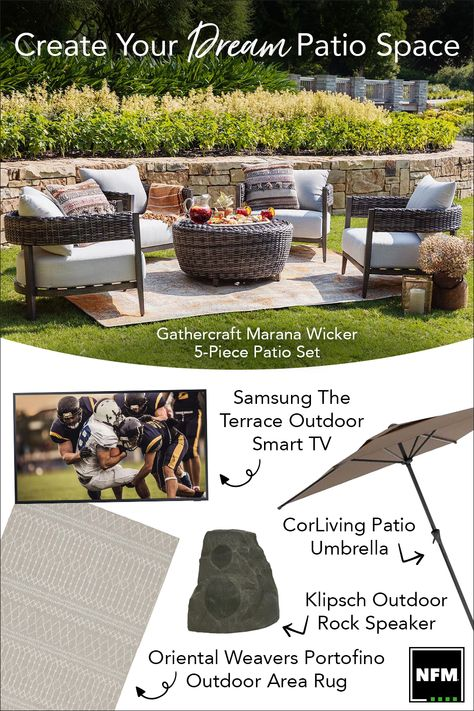 backyard oasis nebraska furniture mart