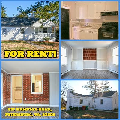 B And K Properties Now Ready To Rent 827 Hampton Rd Petersburg Va The Hamptons Rent Petersburg