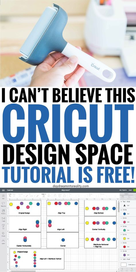 Full Cricut Design Space Tutorial For Beginners - 2019