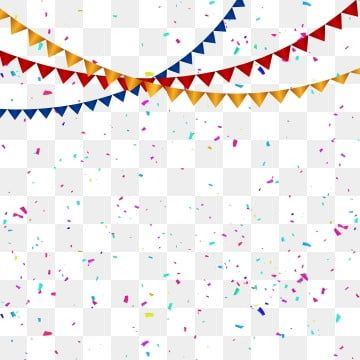 Colorful Celebration Confetti And Colorful Flag Transparent Background Celebration Party Confetti Png And Vector With Transparent Background For Free Downloa Birthday Flags Colorful Backgrounds Celebration Balloons