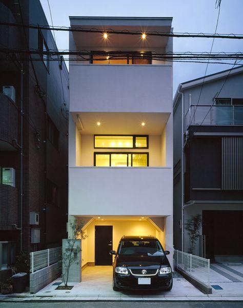 ハイサイドライトのある家 間取り 東京都目黒区 ローコスト 低