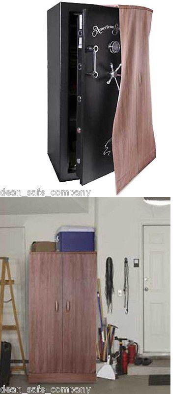 Gun Safe Disguise Concealment Cloak Hidden American Security Wooden Cabinet 6024